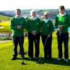 Cobh Golf Club Annual Drive-In of the new Captains & President