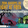 The Zom-Barrys in Fright at Fota – 27th/28th October