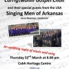 Singing Men of Arkansas & Carrigtwohill Gospel Choir in Concert