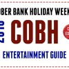 Cobh Edition Gig Guide October Bank Holiday Weekend